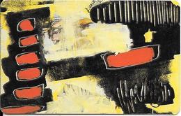 CARTE-PUCE-LUXEMBOURG-50U-SC05-SC7-1994-ART CONTEMPORAIN-2-SERGE KOCH-V° N° Série-C49146682-TBE - Luxembourg