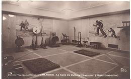"""C.G.T. - """"Normandie"""" - La Salle De Culture Physique - Paquebots"""