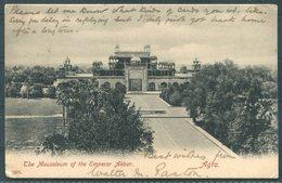 1904 India Agra Emporer Akbar Mausoleum Postcard. Allahabad - Valletta Malta Via SEA POST OFFICE - India (...-1947)