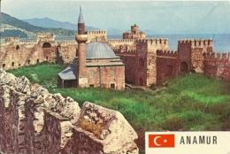 TURKYE  TURKIYE  ANAMUR Citadelle  EMA Stamp - Turchia