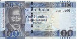 SOUDAN SOUTH 100 POUNDS 2017 UNC P 15 C - Sudan
