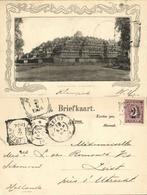 Indonesia, JAVA YOGYAKARTA DJOKJA, Borobudur Buddhist Temple (1904) Postcard - Indonesië