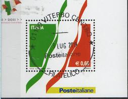 PIA  -  ITALIA  -  2011  : 150° Della Proclamazione Del Regno D' Italia -   (SAS  Bf  66) - Blocchi & Foglietti