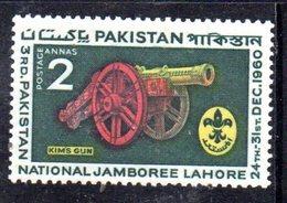 APR1759 - PAKISTAN 1960 , Serie Yvert N. 122   ***  MNH  (2380A)  Scout Lahore - Pakistan