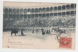 MF331 - CORRIDA DE TOROS - Mazzantini Terminando Un Quite - TAUROMACHIE - Edition : Hauser Y Menet - MADRID - 1902 - Corrida