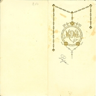 "Menu De 1938 à HOUFFALIZE "" Urbin Choffray "" - Menükarten"