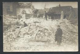 +++ CPA - Photo Carte - Foto Kaart - NIEUWPOORT - NIEUPORT - Guerre - 1914 - Ruines   // - Nieuwpoort