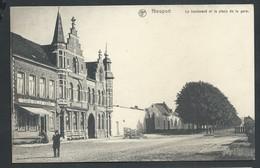 +++ CPA - NIEUPORT - NIEUWPOORT - Boulevard Et Place De La Gare - Café - Nels   // - Nieuwpoort