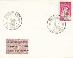 WALLIS ET FUTUNA PREMIER JOUR CROIX-ROUGE 1963 MATA-UTU - Covers & Documents