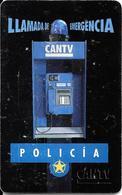 CARTE-PUCE-VENEZUELA-THEME-POLICIA-BE - Venezuela