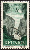 Réunion Obl. N° 269 - Détail De La Série émise En 1947 - 1fr20 Vert Et Gris - Reunion Island (1852-1975)