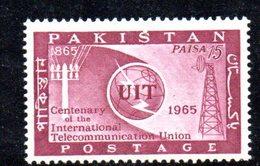 APR1769 - PAKISTAN 1965 , Serie Yvert N. 212   ***  MNH  (2380A) Uit - Pakistan