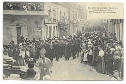 49-LE LION-D'ANGERS-Fête De Jeanne D'Arc, Mgr Rumeau à La Procession...  Animé  (pli Vertical) - France