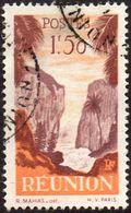 Réunion Obl. N° 270 - Détail De La Série émise En 1947 - 1f50 Orange Et Brun-lilas - Reunion Island (1852-1975)