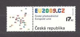 Czech Republic 2008 MNH ** Mi 583 Zf Sc 3399 Czech Republic Chairmanship In The EU Council. Tschechische Republik. - Czech Republic