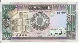 SOUDAN 100 POUNDS 1988-90 AUNC P 44 - Sudan