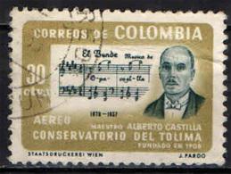 COLOMBIA - 1964 - MAESTRO ALBERTO CASTILLA - USATO - Colombie