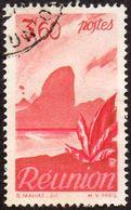 Réunion Obl. N° 273 - Détail De La Série émise En 1947 - 3f60 Rouge-brun Et Rose - Reunion Island (1852-1975)