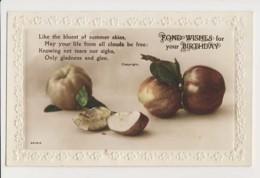 AI60 Birthday Greeting - Still Life Of Apples - Birthday
