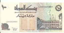 SOUDAN 100 DINARS 1994 AUNC P 56 - Sudan