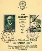 SCOUTISME ECLAIREURS DE FRANCE PLEIN JEU 26 JUIN 1938 JEAN CHARCOT - Scouting