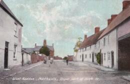AP56 West Haddon, Northants, Upper Part Of High St - 1908 Postcard - Northamptonshire