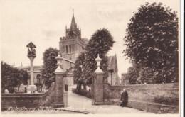 AP56 Aylesbury, St. Mary's Church And Cross - Buckinghamshire
