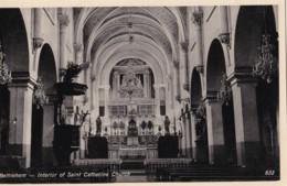 AP56 Bethlehem, Interior Of Saint Catherine Church - Palestine