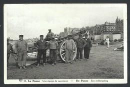 +++ CPA - DE PANNE - Une équipe De Sauveteurs - Een Reddersploeg - Métier  // - De Panne