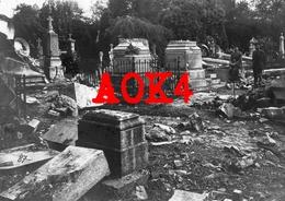 BRUGGE Assebroek Stedelijke Begraafplaats Kerkhof 1918 Bombardement Marinekorps Flandern - Guerre, Militaire