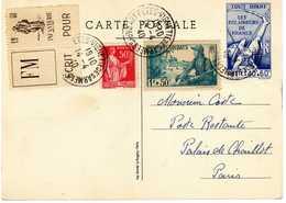 SCOUTISME ECLAIREURS DE FRANCE PLEIN JEU 26 JUIN 1938 ERINOPHILIE VIGNETTE FM - Scouting