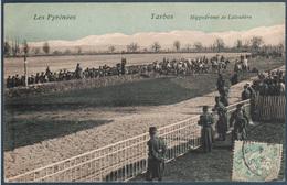 Tarbes , Hippodrome De Laloubère , Chevaux Au Départ , Animé - Tarbes