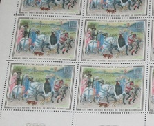 Timbre France Neuf** 1965 N° 1457 Tableau De DUC DE BERRY Feuille Complète - Full Sheets