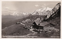 AQ39 Hochalm Gegen Wettersteinwandspitze U. Karwendelgebirge - RPPC - Germany