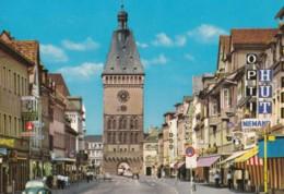 AQ39 Speyer Am Rhein, Altportel - Shops, Cars, VW Beetle - Speyer