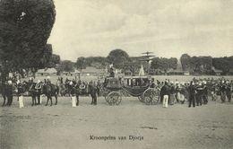 Indonesia, JAVA YOGYAKARTA DJOKJA, Carriage Of The Crown Prince (1910s) Postcard - Indonesië