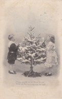 AL64 Novelty - Hold To The Light - Angel On Christmas Tree - Fancy Cards