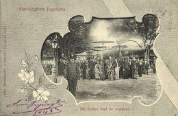 Indonesia, JAVA YOGYAKARTA DJOKJA, 7th Sultan Hamengkubuwono VII And Regent 1905 - Indonesië