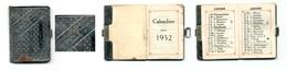 Calendrier 1952 - Comptoir D'Orléans à PARIS (en Métal) - Calendarios