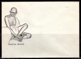 IND+ Indien - Gandhi, Mohandas 1869-1948 (UNIKAT / ÙNICO / PIÉCE UNIQUE / уникален) - Inde