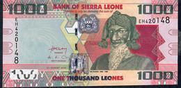 SIERRA LEONE  P30b 1000 LEONES 2013 UNC. - Sierra Leone
