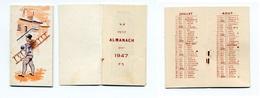 Calendrier 1947 - Ramoneur (pas De Publicité) - Calendriers