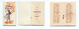 Calendrier 1947 - Ramoneur (pas De Publicité) - Calendarios