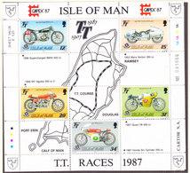 Isle Of Man 1987 TT-races ** Mnh (43490) - Man (Eiland)