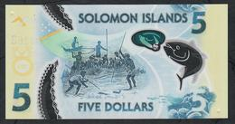 SOLOMONS ISLANDS NLP 5 DOLLARS 2019 COMMEMORATIVE UNC. - Salomonseilanden