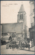 Suresnes , L'église , Messageries Longjumeau , Graineterie , Animé - Suresnes