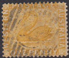 Western Australia 1872-78 Used Sc 36 1p Swan - 1854-1912 Western Australia