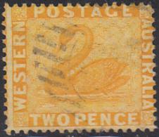 Western Australia 1882 Used Sc 50 2p Swan - 1854-1912 Western Australia