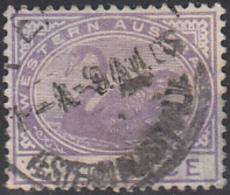 Western Australia 1890-93 Used Sc 67 6p Swan - 1854-1912 Western Australia