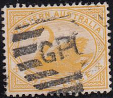 Western Australia 1899-1901 Used Sc 74 2p Swan - 1854-1912 Western Australia